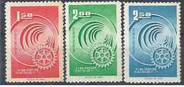 1965 FORMOSE TAIWAN 502-04* Rotary, Deuxieme Choix - 1945-... Republic Of China