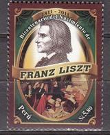 Peru  2011 Franz Liszt  Michel  2600  MNH  27383 - Musique