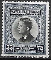 JORDANIE  -   1959..  Roi Hussein.   35 Fils .  Neuf * - Giordania