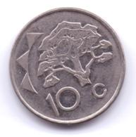NAMIBIA 2012: 10 Cents, KM 2 - Namibia