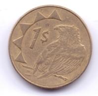 NAMIBIA 2010: 1 Dollar, KM 4 - Namibia