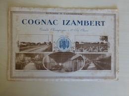 COGNAC IZAMBERT, Buvard Ancien Ref 1691 ; BU 02B - Non Classificati