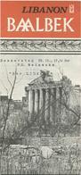 Libanon - Baalbek - Faltblatt Mit 8 Abbildungen - Tourism Brochures