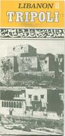 Libanon - Tripoli - Faltblatt Mit 10 Abbildungen - Tourism Brochures