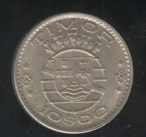 10 Escudos Timor 1970 - Coins