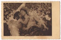 Cartolina-Postcard, Viaggiata (sent), Sogno Di Fanciulla - Malerei & Gemälde