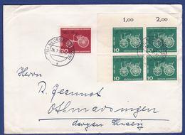 Brief MiNr. 363, 364, Eckrand (aa0578) - Storia Postale