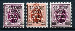 BELGIE - OBP Nr 375A/376 - Met Opdruk / Surchargé - MNH**  - Cote 200,00 € - Belgique