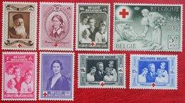 Red Cross Croix Rouge Rode Kruis Rotes Kreuz Complete Set 1939 OBP 496-503 (Mi 497-504) POSTFRIS/ MNH ** BELGIE BELGIUM - Unused Stamps