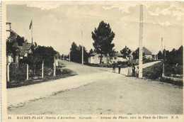 MAURET  PLAGE  (Bassin D'Arcachon ) Gironde) Avenue Du Phare Vers La Place De L'Etoile RV Timbre 2F - France
