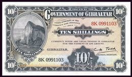 GIBRALTAR ~ 10/- Shillings ~ 50 Pence {Ordinance 1934 ~ 2018} UNC P.New - Gibraltar