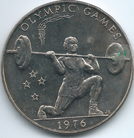 Samoa - Tunamafili II - 1 Tala - 1976 - Olympic Games Weightlifting - KM22 - Samoa