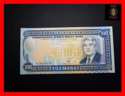 TURKMENISTAN 100 Manat 1995 P. 6 B  UNC - Turkmenistan