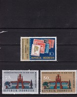 Indonesia Indonesie 1964 - 443** CENTENARY OF POST Stamp World EXPO New York / Indonesian Pavilion 2v - Mi 444-45 MNH** - Indonesia