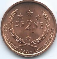 Samoa - 2000 - Tunamafili II - 2 Sene - KM122 - Samoa