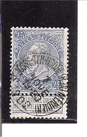 Belgique N°60 St-Josse-Ten-Noode (R.du Méridien) W103 - 1893-1900 Fine Barbe