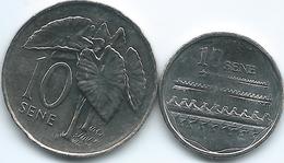 Samoa - 10 Sene - 2006 - 2KM132 & 2011 - KM168 - Samoa