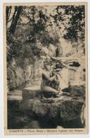 C.P.  PICCOLA     CASERTA    PARCO  REALE     GIARDINO  INGLESE   CON  VENERE   1937            2 SCAN  (VIAGGIATA) - Caserta