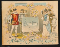 CHROMO  HUNTLEY & PALMERS  BISCUITS    2 SCANS - Confectionery & Biscuits