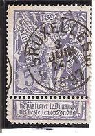 Belgique N°71 Bruxelles 5 W108 - 1894-1896 Expositions