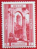 1Fr + 1Fr Abbaye Abdij Orval 1939 OBP 514 (Mi 515) POSTFRIS/ MNH ** BELGIE BELGIUM - Unused Stamps