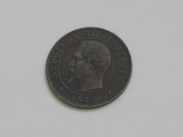 2 Centimes Napoléon III 1855 BB - Tête Nue   ***** EN ACHAT IMMEDIAT **** - B. 2 Centimes