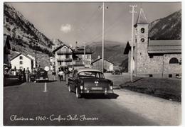 CLAVIERES - CLAVIERE - CONFINE ITALO FRANCESE - 1962 - AUTOMOBILI - CARS - Turismo