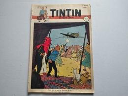TINTIN N° 19 COUVERTURE DE HERGE - Tintin