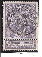 Belgique N°71 Bruxelles11 X101 - 1894-1896 Expositions
