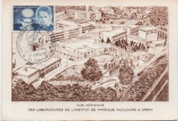 FRANCE-Carte Maximum-Centenaire De La Naissance De Marie Curie-cachet De Paris Du 07.11.87 - Maximum Cards