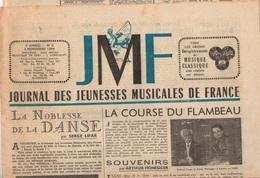 Journal Des Jeunesses Musicales De France N°2 La Noblesse De La Danse - Lettre Ouverte De M. Frédéric Chopin De 1949 - Música