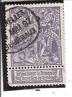 Belgique N°71 Bruxelles Journaux X102 - 1894-1896 Expositions
