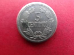 Venezuela  5 Centimos  1965  Y 38-2 - Venezuela