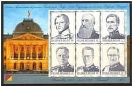 Blok 80** De 6 Belgische Koningen Postfris BLOC 80 MNH- BRUPHILA 2832/37** NEUF ** Les 6 Rois Belges - Blocs 1962-....