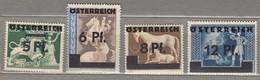 AUSTRIA OSTERREICH 1945 MNH (**) Mi 664-667 #21545 - 1945-60 Ongebruikt