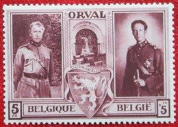 5Fr + 5Fr Abbaye Abdij Orval 1939 OBP 518 (Mi 519) POSTFRIS/ MNH ** BELGIE BELGIUM - Unused Stamps