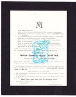 DB Felicie Eud. Buseyne ° Ieper 1873 † 1940 X M. Didier / Dezutter Vanderswaen Becquaert Descamps Salomé Leclair Collet - Obituary Notices