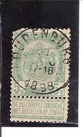 Belgique N° 56 Oudenburg X104 - 1893-1907 Armoiries