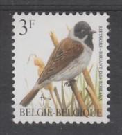 TIMBRE NEUF DE BELGIQUE - OISEAU DE BUZIN : BRUAND DES ROSEAUX N° Y&T 2425 - Sperlingsvögel & Singvögel