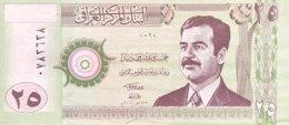 Iraq 25 Dinars, P-86 (2001) - UNC - Iraq