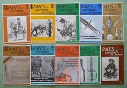 ARMES & UNIFORMES De L'HISTOIRE (lot De 10 N° De 1972 Et 1974) - Weapons