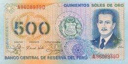Peru 500 Soles De Oro, P-125A (18.3.1982) - UNC - Peru