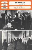 - 1952 - ITALIE - COMEDIE DRAMATIQUE - LE MANTEAU   - 068 - Autres