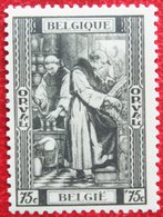 75c + 75c Abbaye Abdij Orval 1939 OBP 513 (Mi 514) Ongebruikt/ MH BELGIE BELGIUM - Unused Stamps