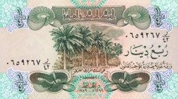 Iraq 1/4 Dinar, P-67 (1979) - UNC - Iraq
