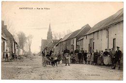 Rainneville : Rue De Villers (att. Chien) - Autres Communes