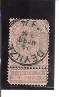 Belgique N° 56 DEYZE X106 - 1893-1907 Armoiries