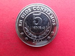 Nicaragua 5  Cordobas  2014  Km  !!! - Nicaragua