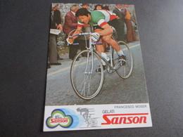 12 CM X 17 Cm, Francesco Moser - Ciclismo
