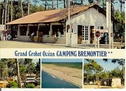 """CP De LEGE ( Lège-Cap-Ferret )  """" Le Grand Crohot Océan - Camping Brémontier """" - Arcachon"""